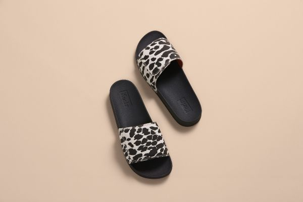 Bliss V Leopard Black/Cream