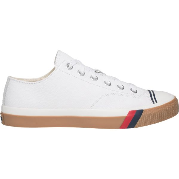 ROYAL LO LEATHER WHITE-GUM