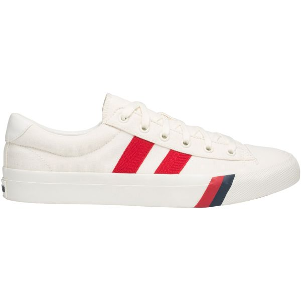 TH ROYAL PLUS CANVAS WHITE RED