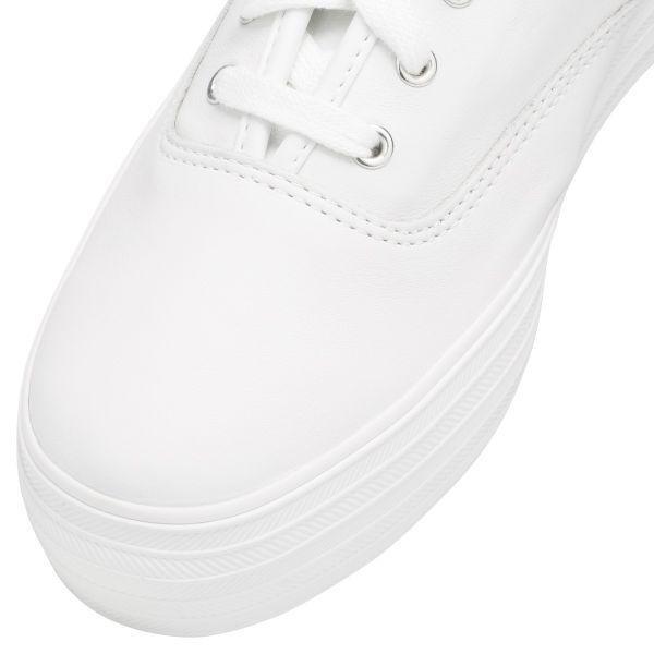 TRIPLE LEATHER WHITE
