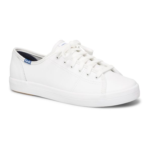 KICKSTART LEATHER WHITE