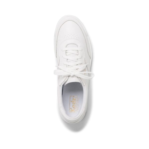 MATCH POINT LEATHER WHITE