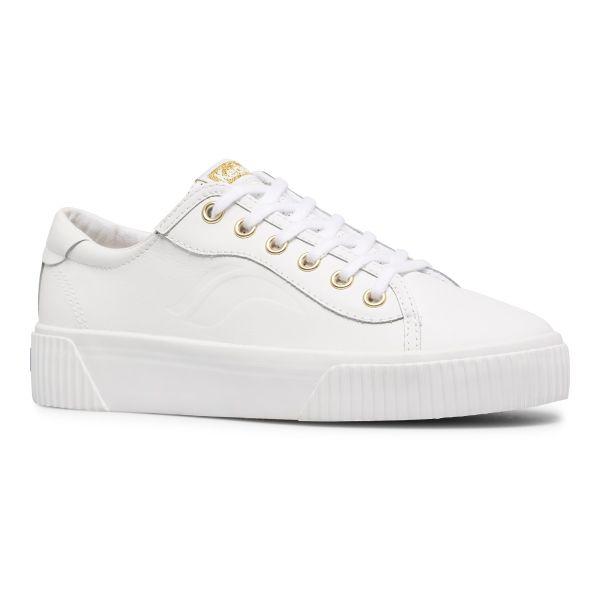 Crew Kick Alto Leather White