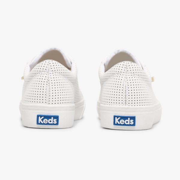 Jump Kick Leather White/Gold