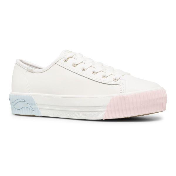 Triple Kick Amp Leather White/Rose/Blue